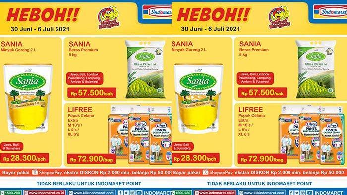 Promo Indomaret 2 Juli 2021, Minyak Goreng, Milk Fair Potongan Harga Rp17.500, Diapers Murah