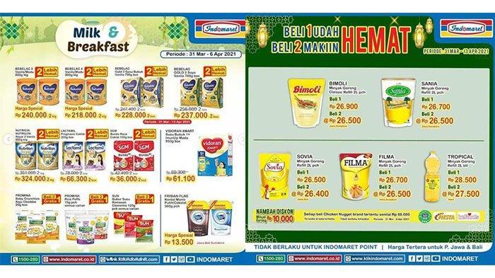 PROMO Indomaret April 2021, Minyak Goreng Beli 2 Makin Hemat, Diskon Sirup dan Biskuit