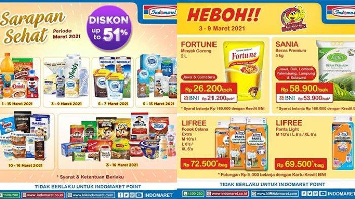 Katalog Promo Indomaret Besok 13 Maret 2021, Minyak Goreng 2L Rp21 Ribuan, Snack Beli 2 Lebih Hemat