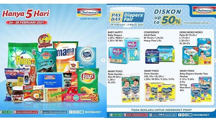 Last Day Of Jsm Indomaret Promotion 28 February 2021 Discount Cooking Oil Diapers Buy 2 Get 1 Free Netral News