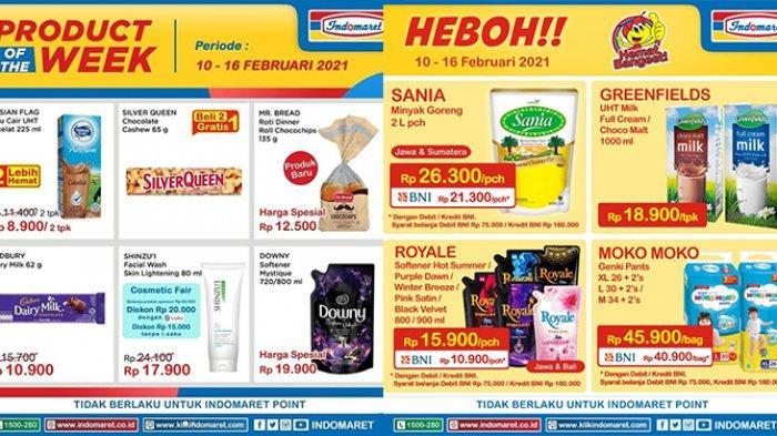 Promo Indomaret TINGGAL SEHARI, Banyak Diskon, Minyak Goreng 2L Rp21.300, Indomie Jumbo Rp8.700/3pck