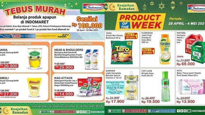 Promo Indomaret hingga 2 Mei 2021, Tebus Murah Minyak Goreng, Sampo, Detergen Rp14.900