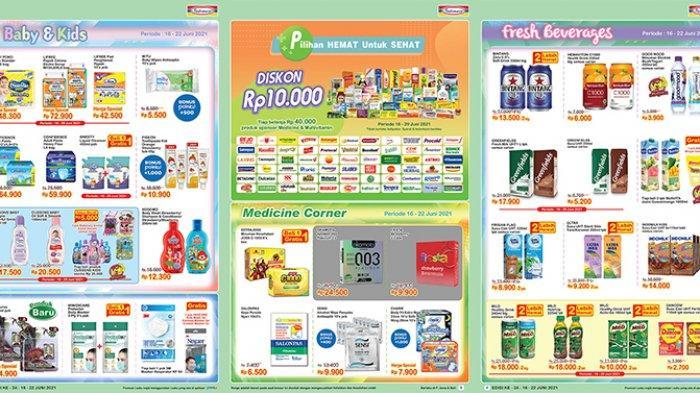 Promo Indomaret Super Hemat besok 19 Juni 2021, susu, tisu beli 2 lebih hemat, tebus murah kecap.