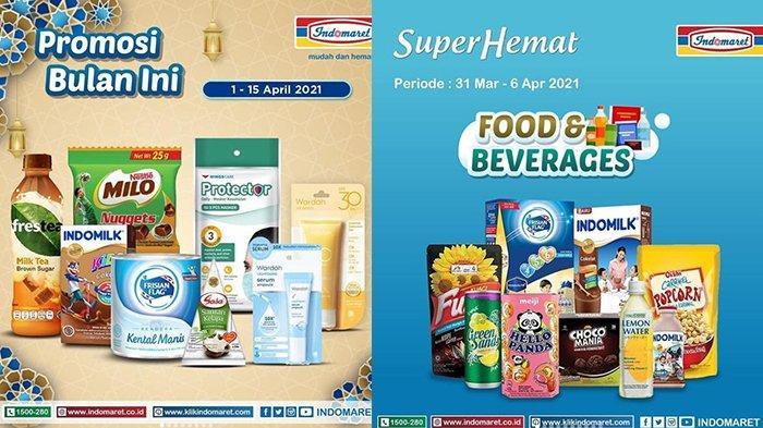 Promo Indomaret Super Hemat Sabtu 3 April 2021, Paket Spesial Minuman dan Snack Rp10.900, Susu Murah