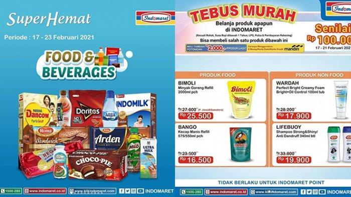 Promo Indomaret Super Hemat TERAKHIR BESOK 23 Februari 2021, Susu Murah, Snack Beli 2 Gratis 1