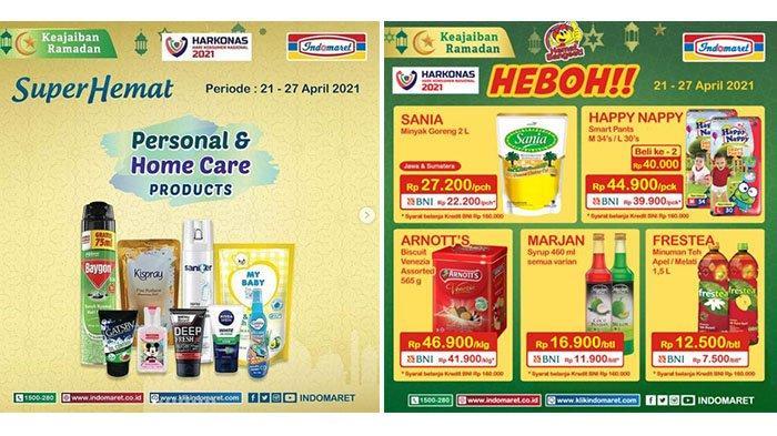 Promo Indomaret SUPER HEMAT Terbaru 21-27 April 2021: Banyak Diskon dari Snack, Susu, hingga Popok