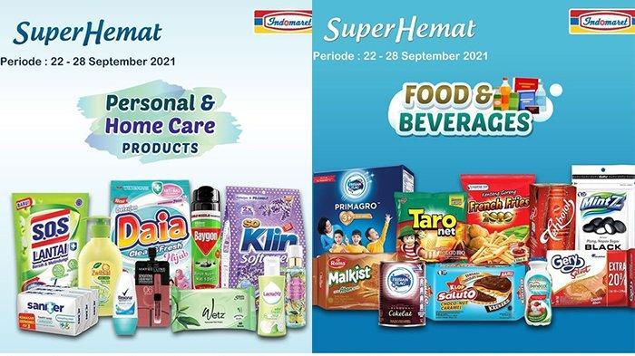 PROMO INDOMARET 23-24 September 2021, Soft Drink 1,5L Rp11.400, Produk Wardah Potongan Rp15.000