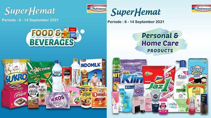 Promo Indomaret TERBARU Super Hemat 8 - 14 September 2021, Diskon hingga 30%, Gratisan Minyak Goreng