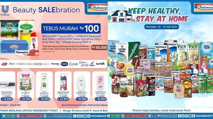 Promo Indomaret TERBARU 19-31 Juli 2021, Tebus Murah Minyak Goreng 1L Rp100, Susu Beli 1 Gratis 2