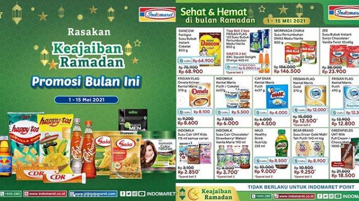 Promo Indomaret TERBARU 2-5 Mei 2021, Snack Tambah Rp5.000 Dapat 2, Sirup, Minyak Goreng Gratisan