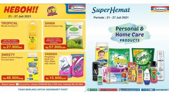 PROMO INDOMARET Terbaru 21 – 27 Juli 2021, Minyak Goreng 2L Rp 27.900, Rinso Detergent Murah