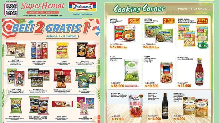 PROMO Indomaret TERBARU Hari Ini 17 Juni 2021: Sania Beras Premium Rp58.900, 5 Indomie Rp12.000
