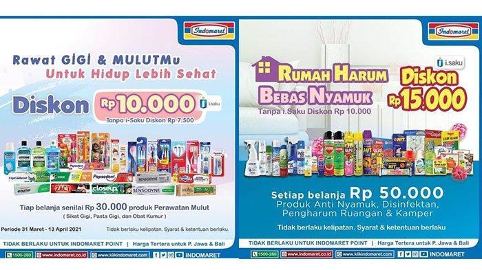 Promo Indomaret Terbaru Hari Ini 6 April 2021: Diskon Pasta Gigi hingga Anti Nyamuk, Bimoli Rp26.900