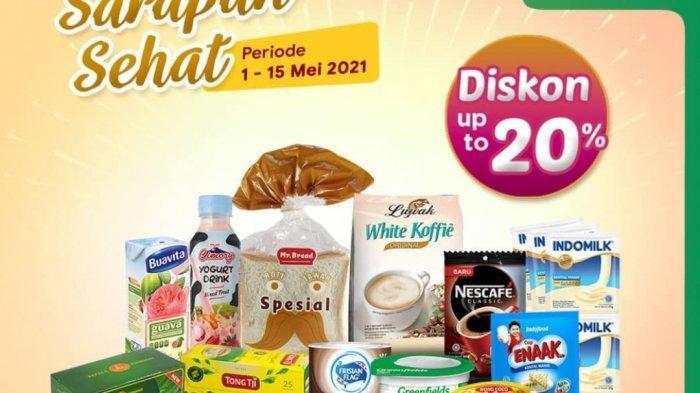 Promo Indomaret TINGGAL HARI INI 15 Mei, Diskon Aneka Produk Sarapan, Minuman Tambah 2.000 Dapat 2