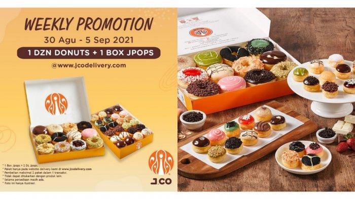 Jangan Sampai Ketinggalan! Promo J.CO Hari Ini 4 September, 1 Lusin Donut dan 1 Box JPOPS Rp 115.000