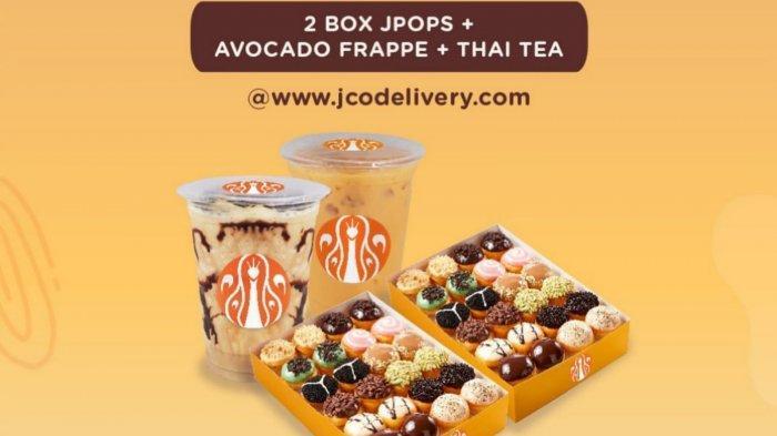 Terjangkau! Promo J.CO Hari Ini 10 September 2021, 2 Box JPOPS, Avocado Frappe, Thai Tea Rp 149.000