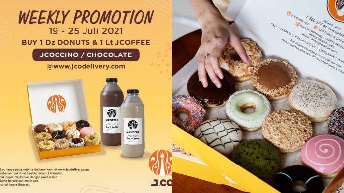 Menarik! Promo J.CO Hari Ini 21 Juli 2021, 1 Lusin Donat dan 1 Liter Iced Chocolate Rp 141.000