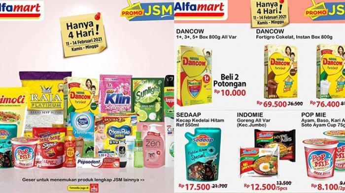 TINGGAL 2 HARI, Promo JSM Indomaret & Alfamart Ada Diskon Beras, Minyak Goreng, Mi Instan & Diapers
