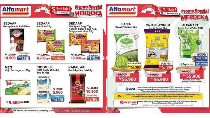Promo Alfamart 13 Agustus 2021, Promo Minyak Goreng, Kojie San Beli 2 Gratis 1, Kecap Manis Rp14.900