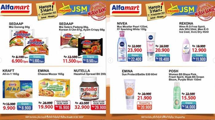 Promo JSM Alfamart TERBARU 17-19 September 2021, Keju Craft Rp9.900, Nivea Sparkling White Rp23.900