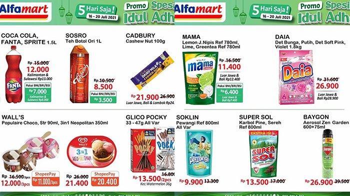 Promo Alfamart 18 Juli 2021 Jelang Idul Adha, Promo Beras, Fanta/Coca-cola/Sprite 1,5 L Rp7.000