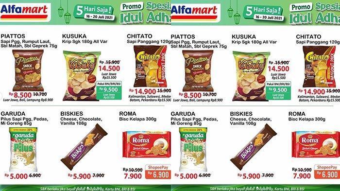 Promo JSM Alfamart 18 Juli 2021, Mi Instan Rp 2 Ribuan, Es Krim Rp11.000/3 Pcs, Kecap 550Ml Rp10.300