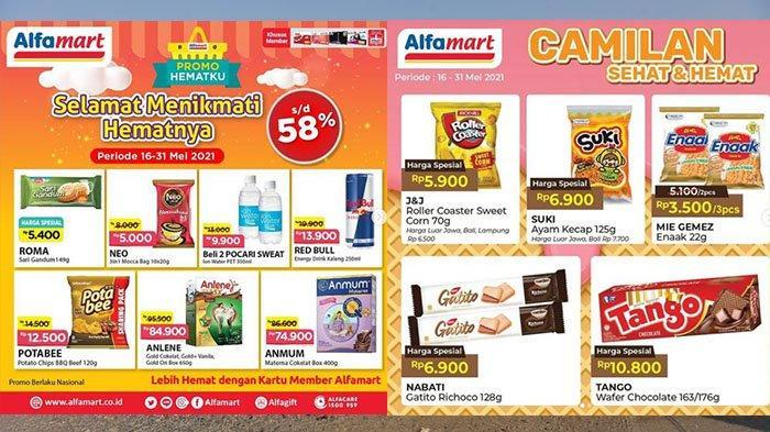 Promo Alfamart 24 Mei 2021, Diskon 58%, Sampo 12.900, Cemilan Mulai Dari 3.500, Selai Cokelat 12.900