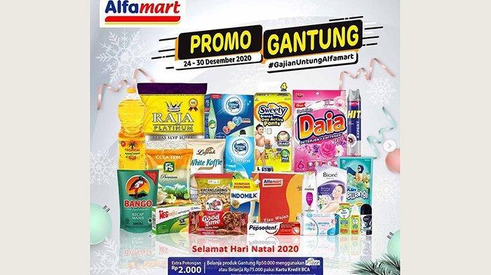Promo JSM Alfamart 24-30 Desember 2020, Dapatkan Diskon Spesial Natal hingga Beli 2 Gratis 1