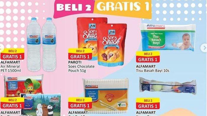PROMO JSM Alfamart 24 September 2021, Air Mineral, Tisu, Beli 2 Gratis 1, Diskon Minyak Kayu Putih