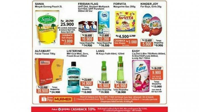 Promo JSM Alfamart 26 Februari - 4 Maret 2021, Promo Beras, Minyak Goreng 2L Rp 25 Ribuan