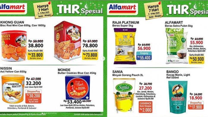 Promo Alfamart 4 Mei 2021, Beras 5 Kg Rp50.900, Promo Beli 1 Gratis 1, Potongan Rp10 Ribu