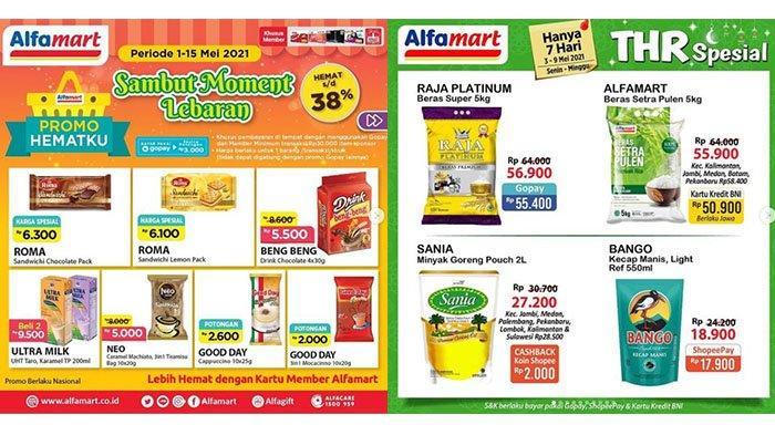 PROMO JSM Alfamart 8-9 Mei 2021: Kurma, Susu hingga Biskuit Kaleng Potong Harga, Ada Produk Gratisan