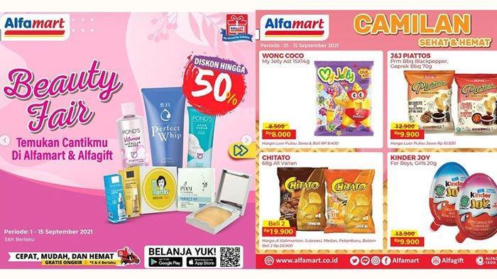PROMO JSM Alfamart Hari Ini 11 September 2021: Ada Diskon UpTo 50%, Chitato Snack 2Pcs Rp19 Ribuan