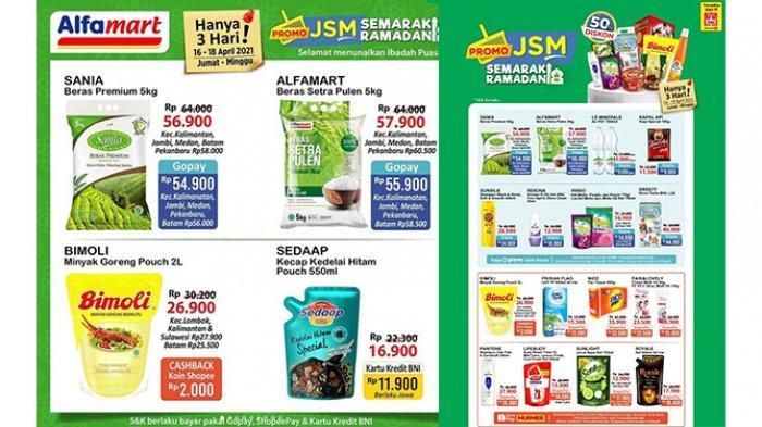 Promo JSM Alfamart Hari Ini 17 April 2021, Sirup Rp3.700, Mie Instan 5 Pcs Rp11.500, Beli 3 Gratis 1