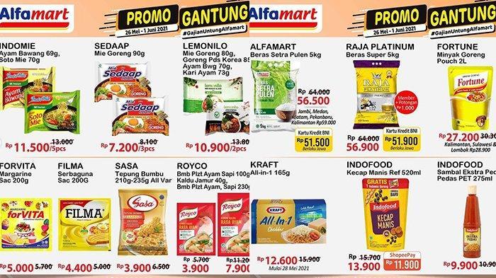 Promo Alfamart 31 Mei 2021, Promo Camilan, Snack, Beras Rp51.500, Minyak Goreng Rp27.200