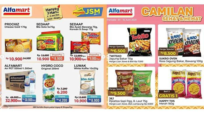 Promo JSM Alfamart 4 Juni 2021, Diskon Beras, Minyak Goreng, Mi Instan hingga Vitamin