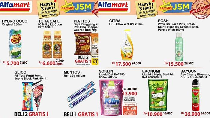 PROMO TERAKHIR JSM Alfamart 20 Juni 2021, Bimoli 27.900 Mie Sedaap 6.900/3 Bungkus