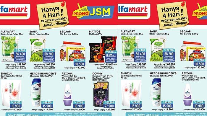 Promo JSM Alfamart PEKAN INI 19 - 21 Februari 2021, Mie Instan Isi 5 Rp10.500, Pewangi Rp5.900