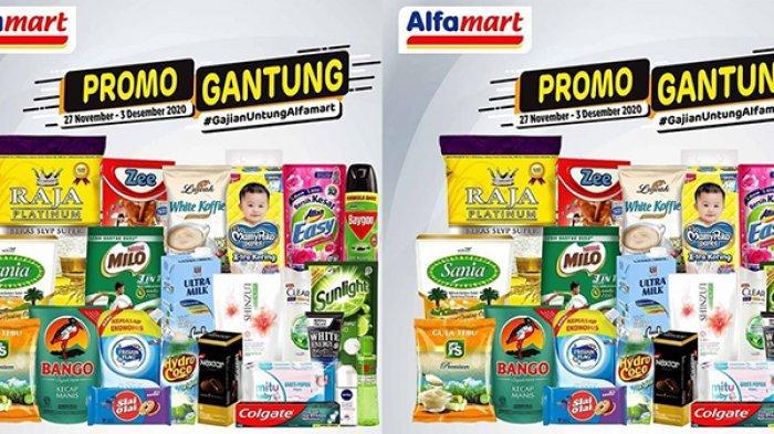 Hari Terakhir Promo Gantung Alfamart, Belanja Beras, Minyak Goreng, Susu hingga Diapers Lebih Murah