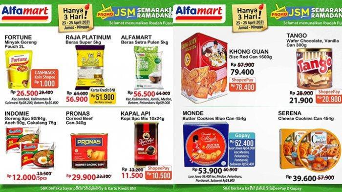 Promo JSM Alfamart Sabtu 24 April 2021, Kopi, Susu, Sirup, Detergen Rp 11 Ribuan, Pasta Gigi Rp900