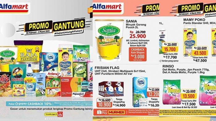 TINGGAL HARI INI, Banyak Diskon di Promo Gantung Alfamart, Beras 5kg Rp55.900, Rinso 770g Rp13.500