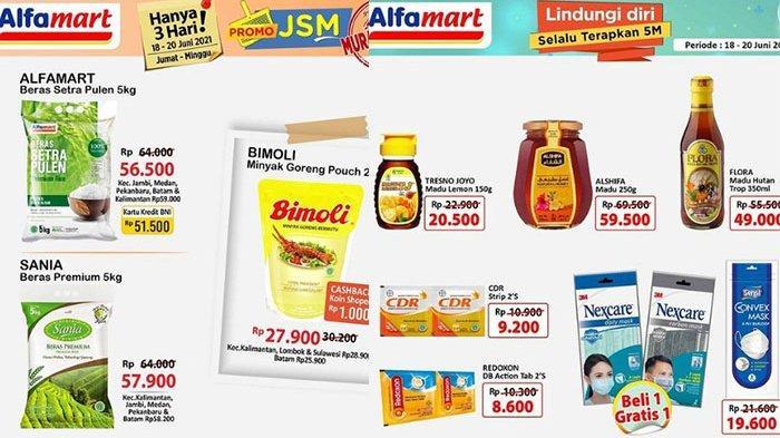 Promo JSM Alfamart Besok 20 Juni 2021 BANYAK DISKON, Minyak Goreng & Diapers Murah, Citra 17.500