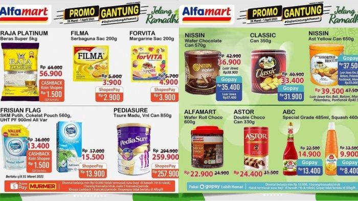Promo JSM Alfamart TERBARU 26 Maret-1 April 2021, susu beli 2 gratis camilan, juga ada promo popok, sabun, detergen, hingga minyak goreng super murah!