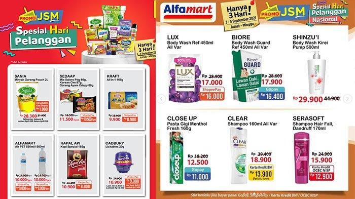 Promo Alfamart 3 September 2021, Susu Anlene 650 Gr Rp79.400, Clear Rp13.900, Keju Craft Rp8.900
