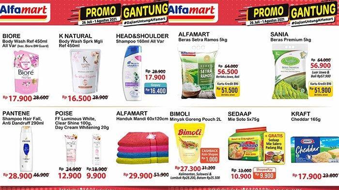 Promo JSM Alfamart TERBARU 30 Juli - 1 Agustus 2021, Mie Instan Rp9.900/5 Pcs, Rinso 770Gr Rp16.000