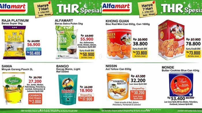 TINGGAL 2 HARI, Promo JSM Alfamart 8 Mei, Banyak Produk TURUN HARGA, Beras 50.900, Mi Instan 12.000