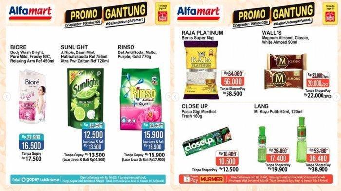 Katalog Promo Jsm Alfamart 25 September 1 Oktober 2020 Diskon Susu Minyak Goreng Hingga Deterjen Halaman All Tribun Bali