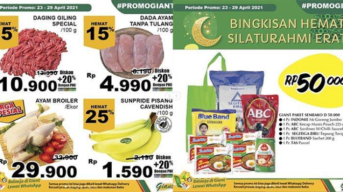 Promo JSM Giant TERBARU 23-29 April 2021, Daging, Buah, Susu Diskon hingga 40%, Sembako Rp 50 Ribuan