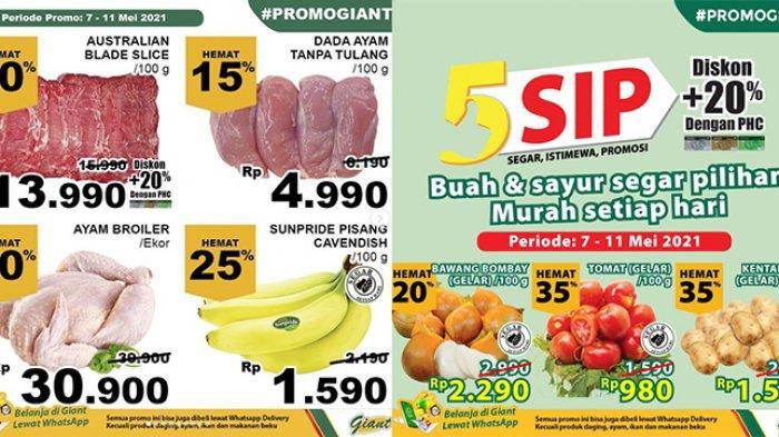 Promo JSM Giant TERBARU 9-11 Mei 2021, Daging, Kurma, Sirup Diskon 45%, Minyak Goreng 2L Rp24.900