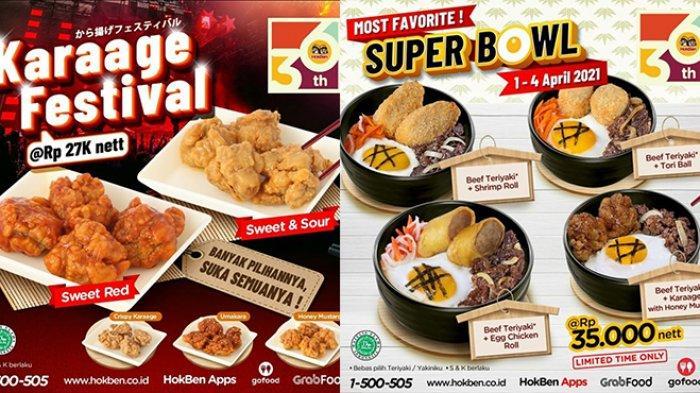 Promo JSM Hokben TERBARU 3-4 April 2021,Makan Kenyang dengan Super Bowl Cuma Rp35.000